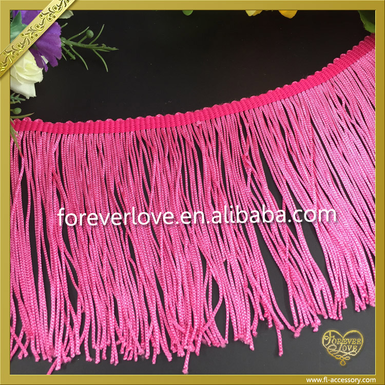 2016 Hotsale pink silk tassels wholesale FT-004