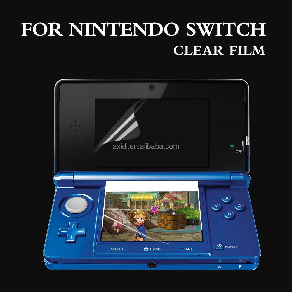 2017 most popular Anti-scratch matte touch screen protector film for Nintendo Switch video game player