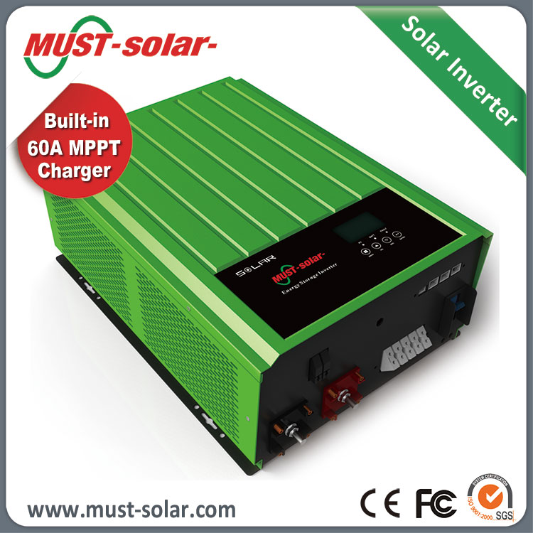 Easy to install 3kw solar panel grid tie inverter with MPPT for house use