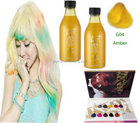 No ammonia no peroxide hair color manicure products