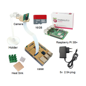 R03 Raspberry Pi 3 Model B / B+ starter Kit+Camera+Power Supply