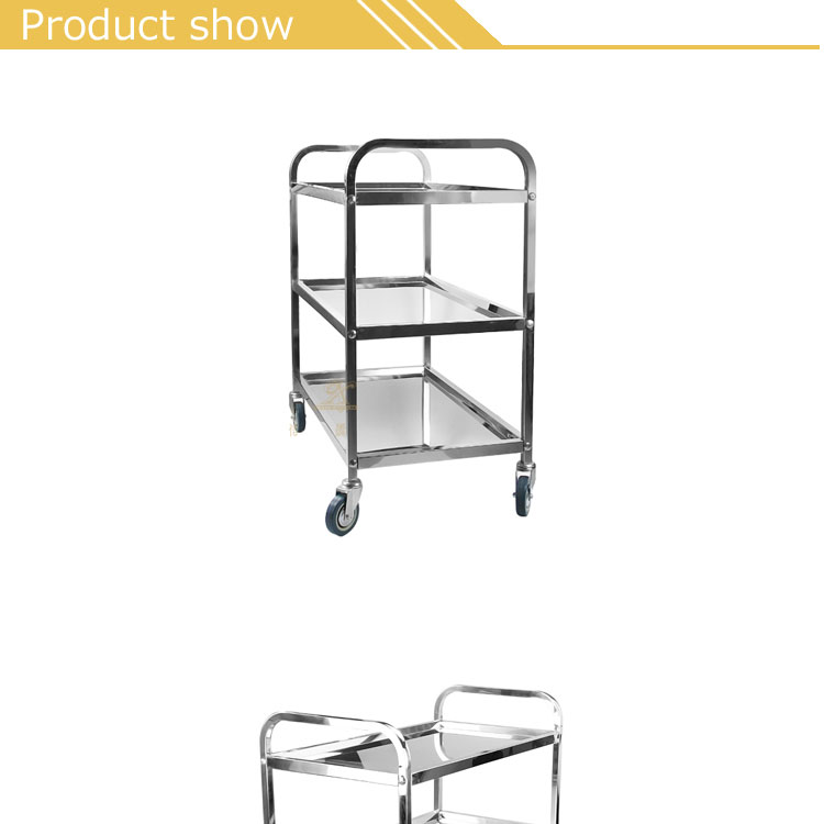 Factory Reasonable Price customize service equipment stainless steel food cart