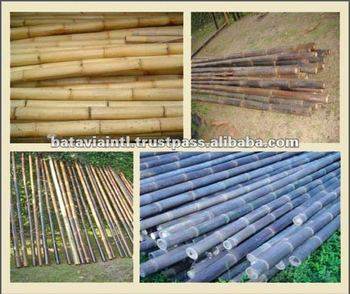 High Quality Natural Eco-Friendly Raw Bamboo Poles