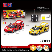 2.4G 1/14 scale rc high speed racing car modle on sale