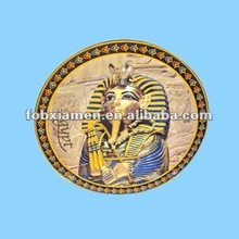 antique egyptian pharaoh decorations plates