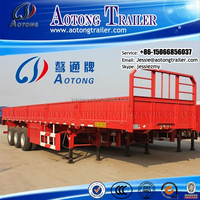 Best selling low price 80 ton cargo trailer for sale (dimension optional)