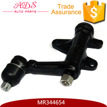 Auto parts supplier advanced front power steering idler arm for Japanese car OEM:MR344654
