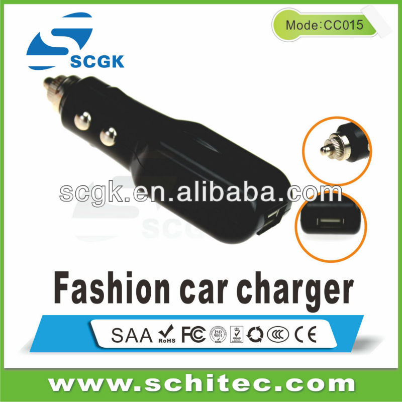 Smartphone New Car Charger For Iphone5&ipod,Ipad Mini