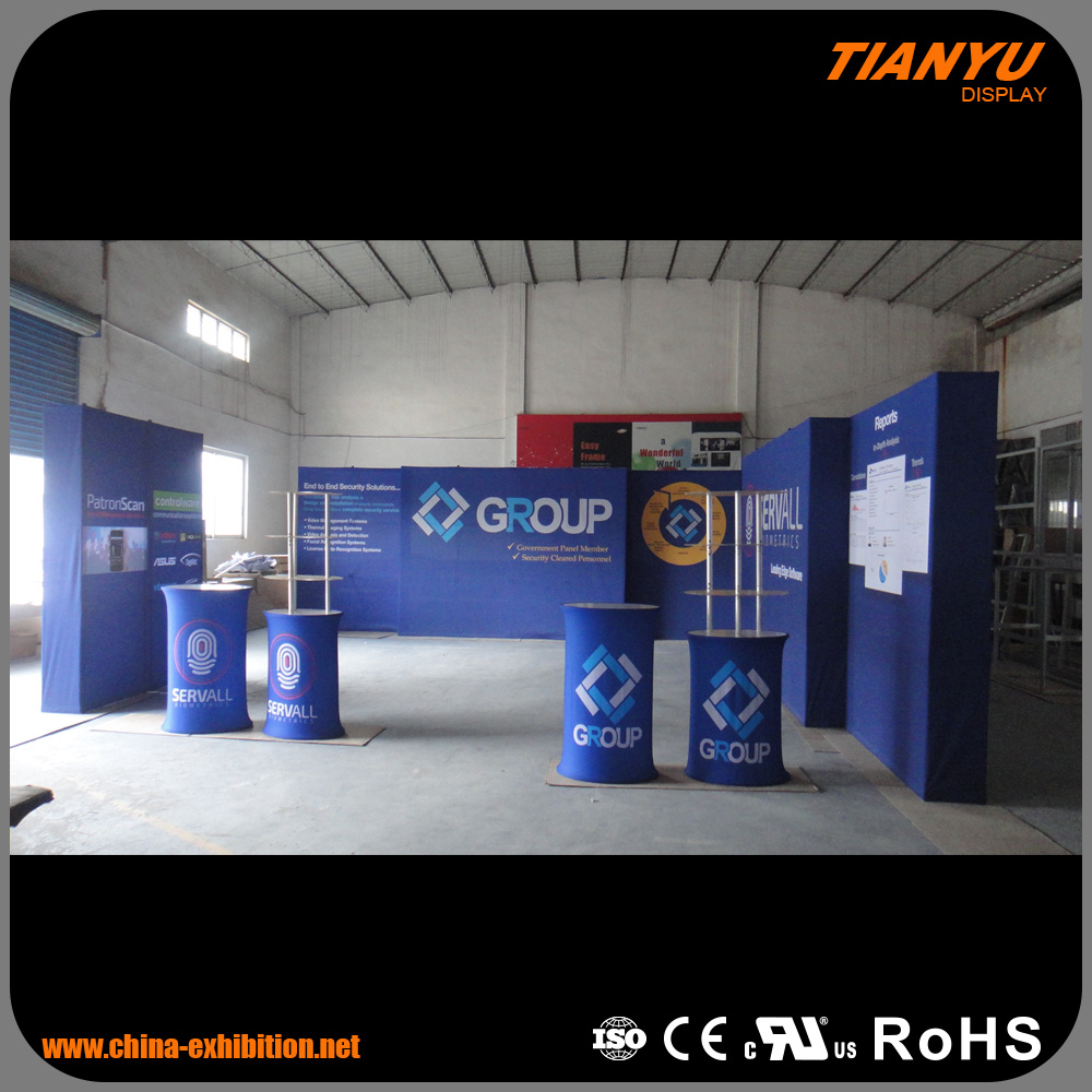 Top quality advertising modular trade show booth exhibition display