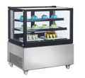 410L Freestanding Commercial Deep Freezer Cake Display Cooler Fridge with CE UL RoHS ETL