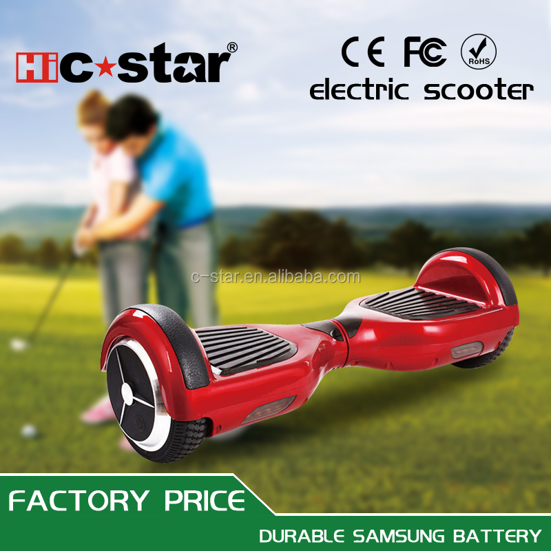 cheap 2 wheel new scooter electric hover board with samsung self balance