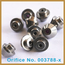 0.26mm ruby orifice for waterjet components with competitive price