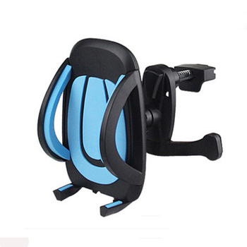 Universal Car Navigation Air Conditioning Mouth 360 Degree Rotate Mobile Phone Holder Air Vent Outlet Cellphone Stand