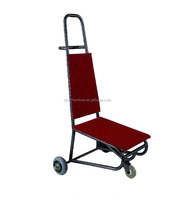 Hotel Banquet Chair Trolley &Luggages moving car banque furniture chair cart trolley suitable for 4-leg Proform student chairs