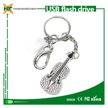 Wholesale 2015 New product 8GB 16GB 32GB 64GB usb flash drive in guitar shape