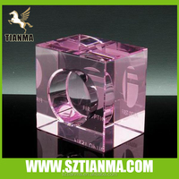 Crystal 3d laser stand display