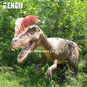 Theme park decoration mechanical robot dinosaur for sale
