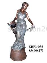 Bronze Lady Pouring Water (Bronze Sculpture & Bronze Statue)