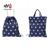 Fashion cheap cute canvas fabric drawstring backpack bag