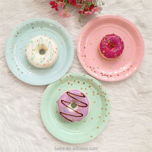 New selling fashion design well-made christmas paper plates