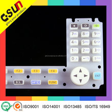 High Standard RoHS complied silicone rubber Keypad