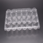 Wholesale 18 holes plastic egg tray blister packaging box