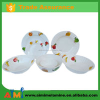 Thailand wholesale market fine bone china dinner set melamine dinner set brands