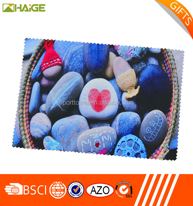 China supplier free sample eye glasses cleaning cloth , nonwoven cleaning cloth