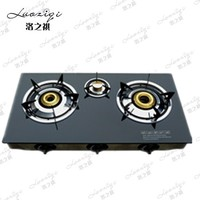 India Gas Cooker Table 3 Burner Top Glass Gas Stove