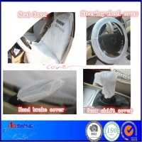 cheap PE disposable automotive clean kits supplier (Seat cover,footmat wheel steering cover)