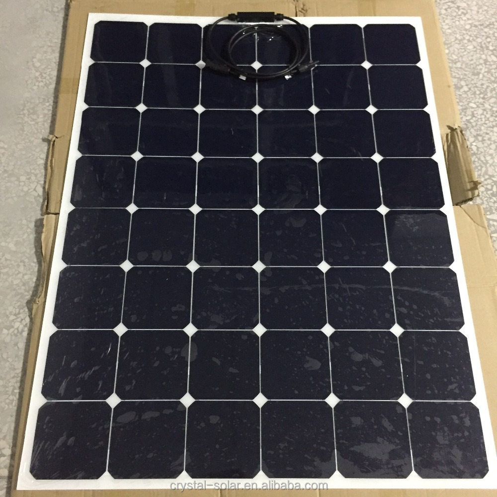New Design Semi Flexible Solar Panel 160W For Solar Air Conditioner Panel Solar Kits Home Solar System