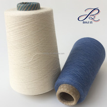 Hemp Cotton Blended yarn from China factory Wholesale Ne 24/1 40% Hemp 60% Cotton raw white and dyed for knitting and weaving