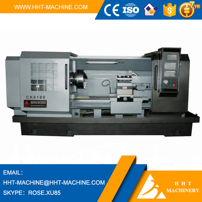 CK-6180 China flat bed big turning lathe machine price with hydraulic tailstock