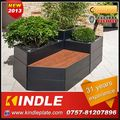 Kindle 2013 New polychrome metal flower pot ornament with 31 years experience