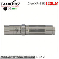 2014 New Cree XP-E R3 Led High Power Stylish outdoor stainless steel torch