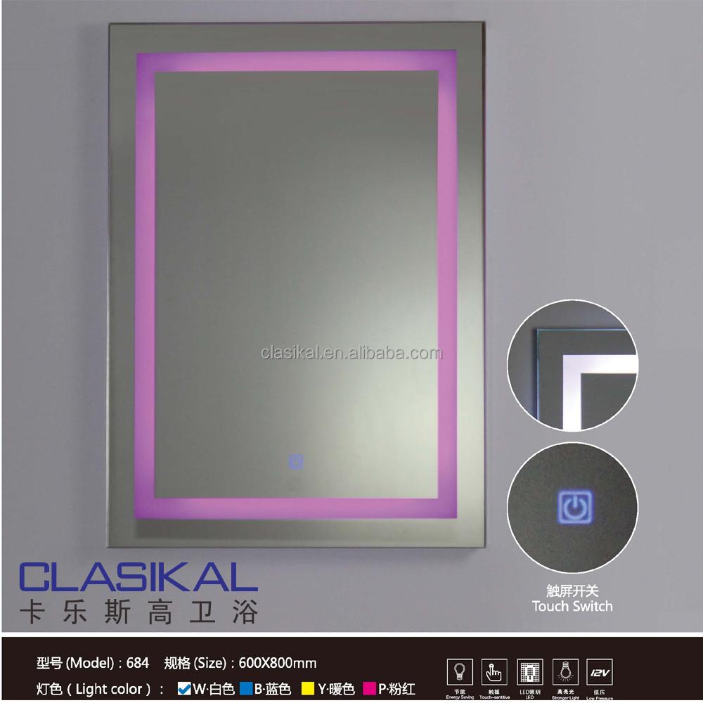 led cuarto de bao con precio razonable inteligente espejo con luz espejo