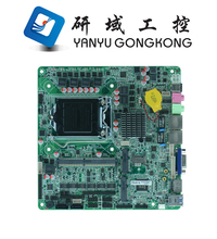 Intel types of computer motherboard support 4K/60Hz display Skylake LGA1151 I3 I5 I7 Thin itx motherboard