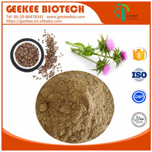 Milk thistle root/seed extract powder/capsule/oil 80% Silymarin soluble in water in bulk price