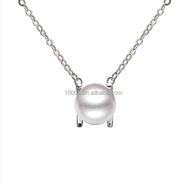 2016 hot sale new product double color pearl necklace , fashion jewelry