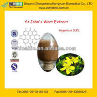 High Quality St.John's Wort Extract From GMP&BV Manufactuer