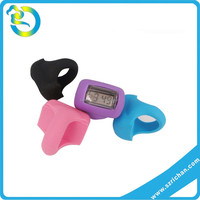 Mutli Colors Waterproof Soft Silicone Rubber Digital Finger Ring Watch