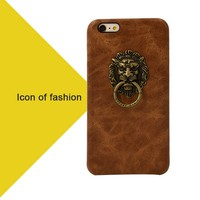 One side Genuine Cowhide For S4 Mini Hybrid Case, Italian Outer Layer Leather Hybrid Case for Samsung S4 Mini