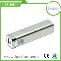 Battery power bank for cellphone 2600mah factory selling BS-26p