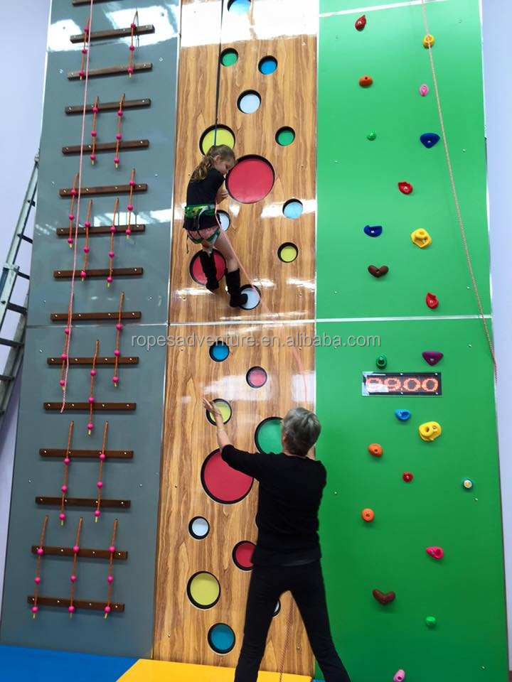 indoor climbing play equipment indoor wooden climbing walls