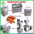 automatic luncheon machine | cooking luncheon meat machine