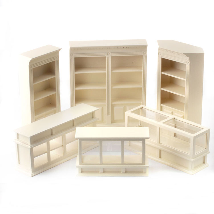 professional wooden retail store shopping display units