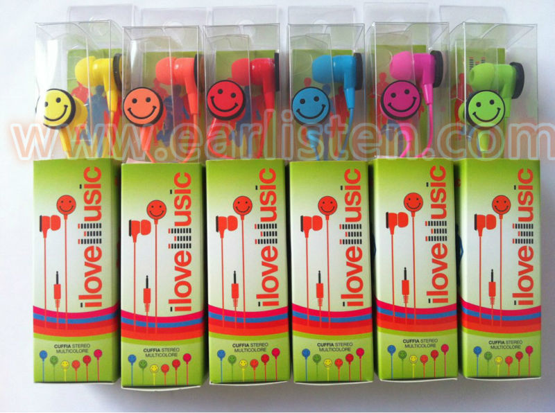 mp3 player earbuds wholesale for mp3