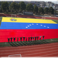 Cheap Price With Best Quality Custom Satin Venezuela National Flag