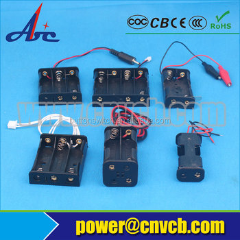 best quality 2x 1.5V 2AA AAA li-ion Power Battery holder / battery box / case/battery holder 18650 For Light / Telephone / Elect