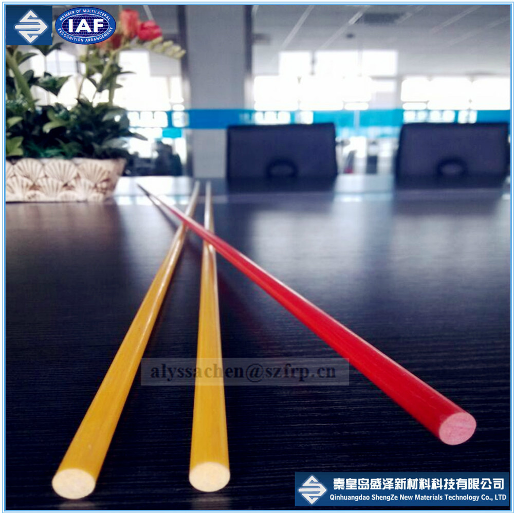 FRP rod stake / fiberglass solid pipe/GRP round bar